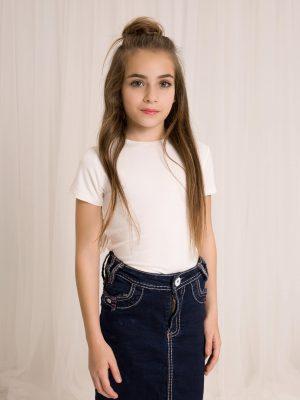 חולצת בסיס שרוול קצר