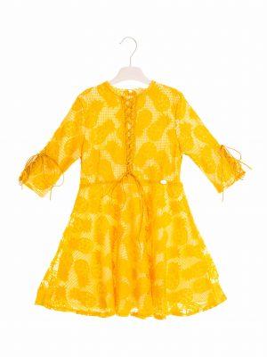 שמלת תחרה אננסים