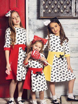 שמלת פפיונים – אדומה