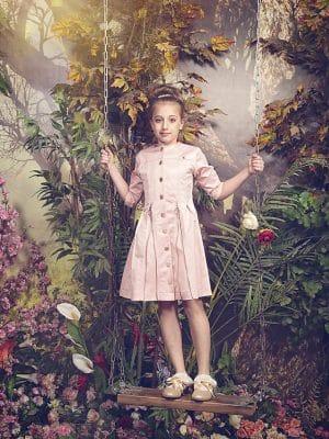 שמלת רוכסנים – אפרסק