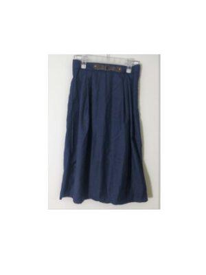 חצאית תלבושת – אבזם עור