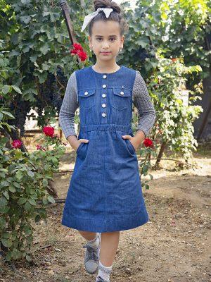 שמלת מדיסון ג'ינס סריג