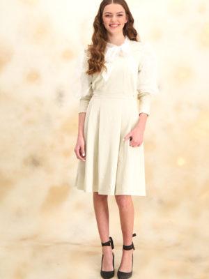 שמלת סופיה מנצנצת | זהב