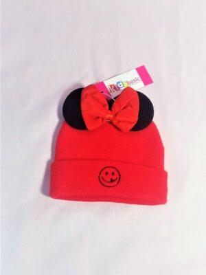 כובע מינימאוס חורף | אדום שחור
