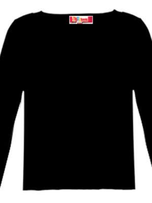 חולצת בסיס יוקרתית | ארוך | שחור, לבן, שמנת