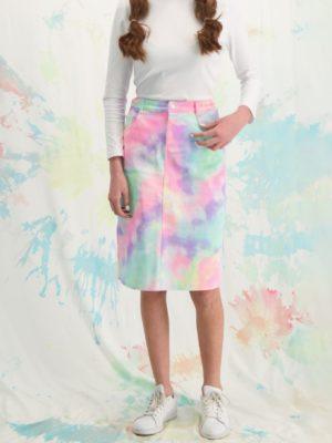חצאית לוטם  טאי דאי | צבעוני