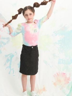 חצאית לוטם גינס מיוחד | שחור