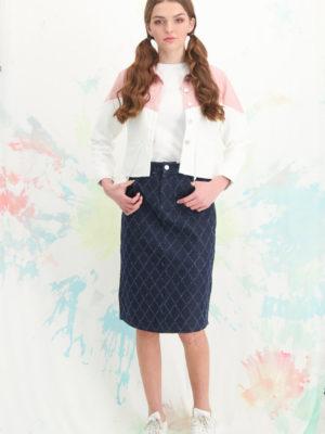 חצאית לוטם גינס כחול מיוחד | כחול כהה