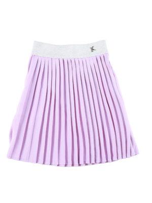 חצאית איריס פליסה|סגול