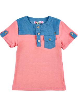 חולצת בנים גרנדיה|כתום