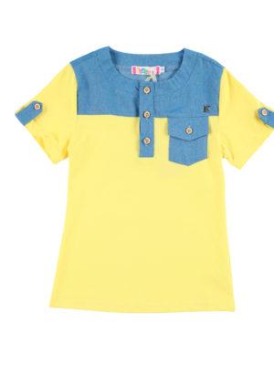 חולצת בנים גרנדיה|צהוב