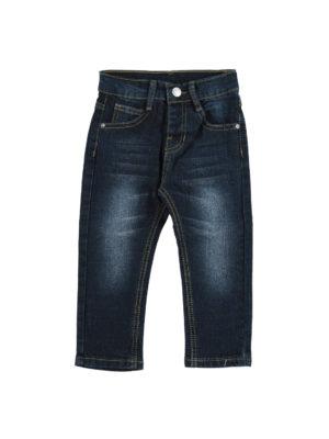 מכנס בנים ג'ינס ארוך|כחול נייבי