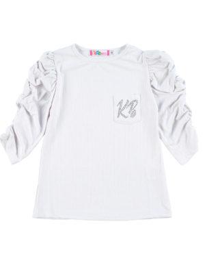 חולצת טאי דאי לבן