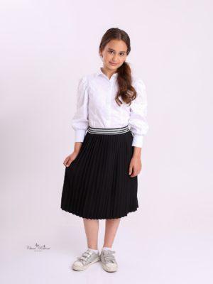 חצאית תלבושת אוכמנית שחור