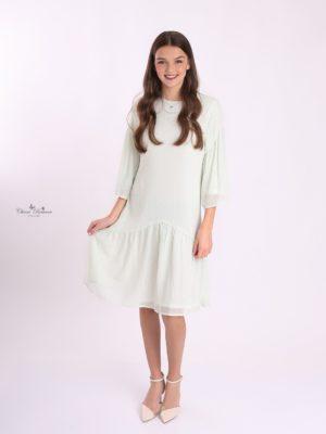 שמלת כלנית מנטה