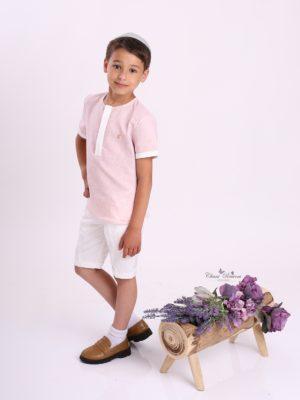 חולצת ליליה בנים| סגול