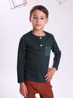 חולצת ריב דניאל ן ירוק